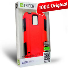 NEW Trident Aegis Case Hybrid Military Grade Red Cover for Samsung Galaxy S5