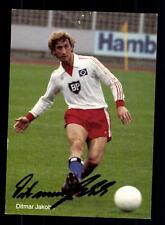 Ditmar Jacob Autogrammkarte Hamburger SV Original Signiert + A 156178