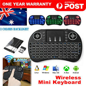 NEW Mini Wireless Remote Keyboard Mouse for Samsung LG Smart TV Android TV Box✔