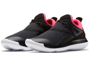 NIKE AIR JORDAN FLY 89 GG LOW TRAINERS TRAINERS MEN SHOES BLACK/PINK/ SIZE 9 NEW