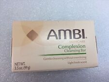 AMBI SKINCARE COMPLEXION CLEANSING BAR LIGHT FRESH SCENT 3.5 OZ