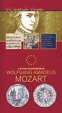 Österreich 5 Euro 2006 Silber W. A. Mozart hgh im Blister