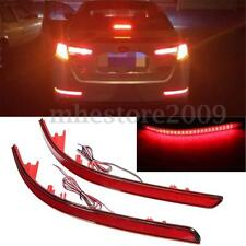 2x Rear LED Bumper Reflector Brake Running Light For KIA K5 Optima Magentis 2011