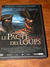 DVD  LE PACTE DES LOUPS  version longue  2 dvd  langue française