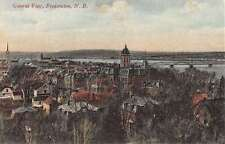 Fredericton New Brunswick Canada General View Of City Antique Postcard K30394