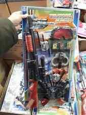 kit polizia fucile pistole manette occhiali  gioco giocattolo cops leo