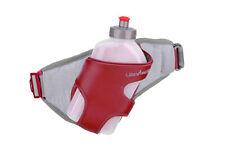 UltrAspire Twitch Hydration Belt & 16 oz. Water Bottle Red/Gray Running/Hiking