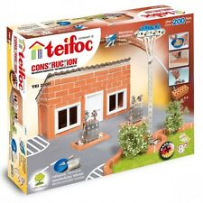 Gas Station Teifoc TEI2200 Construction Building Toy Masonry Brick Eitech Model
