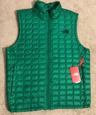 The North Face Thermoball Insulated Zip Vest Jacket Green NEW Men's XL $149