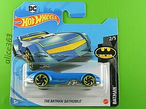 Hot Wheels 2021 - The Batman Batmobile - - 56 - Neuf en Emballage D'Origine