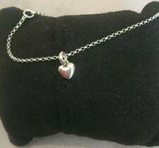 Links of London Sterling Silver Heart Charm Bracelet