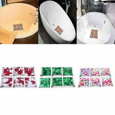 US 6pcs Bathtub Stickers Decal Tread Non Slip Anti-Skid Shower Safety Home Mural