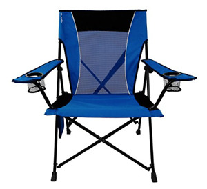 Kijaro Dual Lock Portable Camping and Sports Chair, Maldives Blue