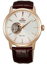 Orient Automatic Leather Strap Men's Watch SDB08001W