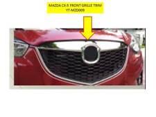 MAZDA CX-5 FRONT GRILLE UPPER BEZEL ABS CHROMED PLASTIC TRIMS YT-MZD009
