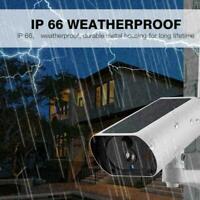 1PC Outdoor Solar Power IP Kamera Wireless WiFi Überwachungskamera Nachtsic L1K5