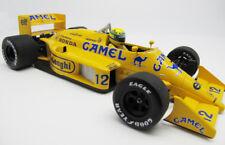 1/18 Minichamps 1987 F1 Lotus Honda Camel 99T Ayrton Senna Diecast Model Car