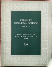 Keighley Sonatina School Book 4, Banks Edition No. 28 The Butterfly etc. 1920's