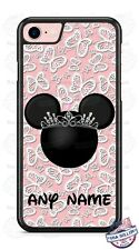 Disney Minnie Mouse with Any Text Phone Case Cover For iPhone Samsung LG Google