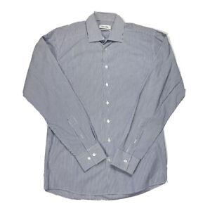 CALVIN KLEIN Long Sleeve Button Front Shirt | Size 41 / 92 (Medium) | VGCOND