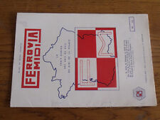 16µ?  Revue Ferrovia Midi  1972 n°52 Autorail VH & TE