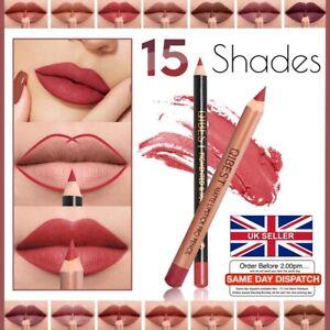 💋Matte Lipliner & Lipstick PRO SET 💋 Lip Liner Pencil + Lipstick Pen 15 Shades
