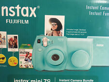 Fujifilm Instax Mini 7S Instant Camera Bundle -  Seafoam Green Brand New Unused