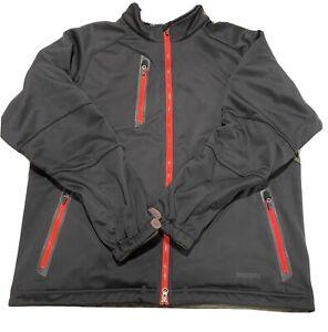Zero Restriction Tour Series Mens Windstopper Jacket XL Full Zip Black