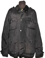 GREAT MEN'S BARBOUR UTILITY WATERPROOF JACKET BREATHABLE NAVY FOUR POCKET XXL