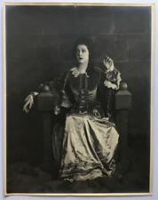 Alla Nazimova ~ Hollywood legend  ~ Scene study ~ George Walters ~ Rare LGBTQ