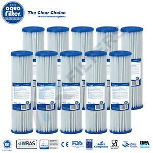 "10pk x 20 micron 10"" Washable Water Filter Reusable Filter Bio Diesel Rain Water"