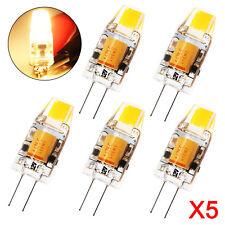 5x G4 3W LED Birne Lampe Leuchtmittel Glühbirne Stiftsockel DC12V Licht