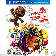 Used PS Vita Little Big Planet  SONY PLAYSTATION JAPANESE IMPORT