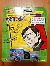 Hot Wheels Star Trek Scotty '52 Chevy Real Riders NEW