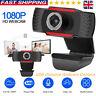 1080P Autofocus HD Webcam Camera With Microphone For PC Desktop Compute USB UK~