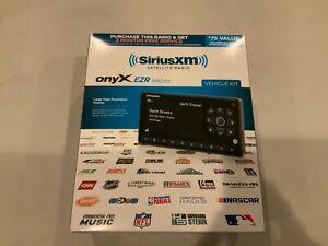 SiriusXM Onyx EZR Satellite Radio Receiver W/ Vehicle Kits Car Radio - Brand New