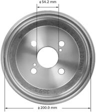 Brake Drum-FWD Rear Bendix PDR0515