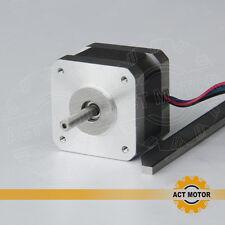 ACT Motor GmbH 1 PC Nema17 17HS3404 Schrittmotor 0.4A 34mm2800g.cm 3D Drucker