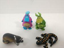 Yowie Lot of 4 includes Retired Fire salamander mini Figure Figurine Model RARE