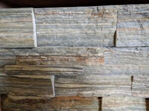 Stack stone 150x600mm Heavy duty 30mm thick price for 1m2