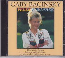 Gaby Baginsky-Feuer &Wasser cd album