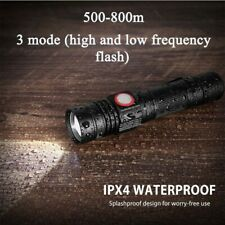 1500Lm Bright Tactical Flashlight Rechargeable Torch IP 66 Waterproof 3 Mode_CA