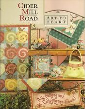 Nancy Halvorsen Cider Mill Road  Art To Heart  Quilt Project Booklet