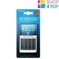 PANASONIC ENELOOP SMART CHARGER BQ-CC55E CC16 FOR AA AAA BATTERIES NEW