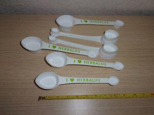 pack of 6 Herbalife measure spoons