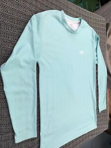 AFTCO Youth Light Green Long Sleeved Fishing Shirt, size L