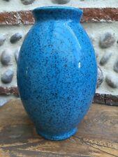 Beau Vase Céramique Couleur Turquoise 1980