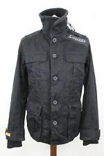 SUPERDRY Regiment Twill Black Jacket Size M