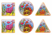 6 Sealife Maze Puzzles - Games Pinata Toy Loot/Party Bag Fillers Wedding/Kids