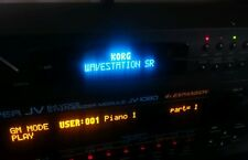 Korg Wavestation SR (Blue or White) Oled Display !